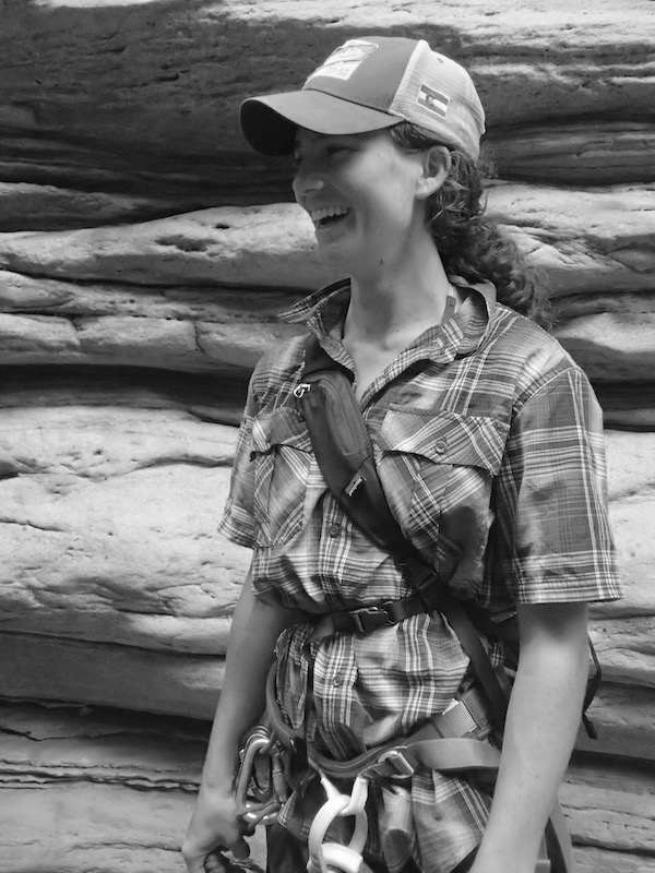 a photo of erin agee smiling during a trip to the grand canyon