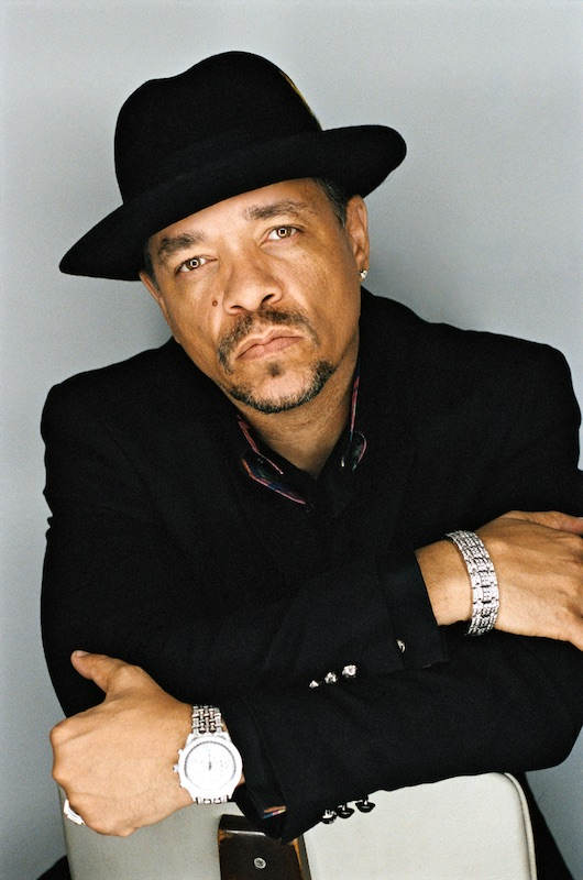 a headshot of ice t the rapper and actor